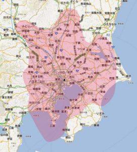 埼玉県地デジ電波